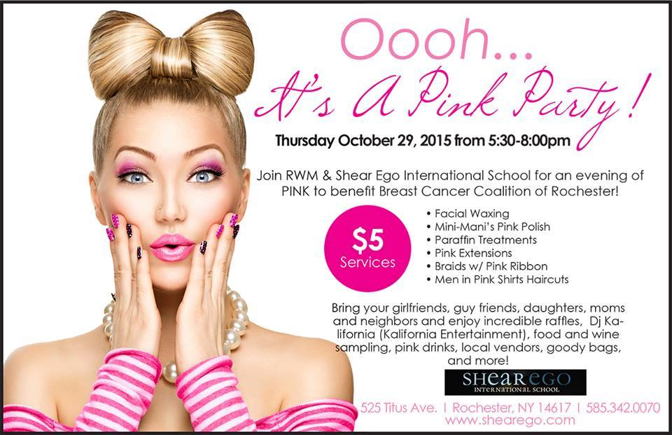 It's A Pink Party!