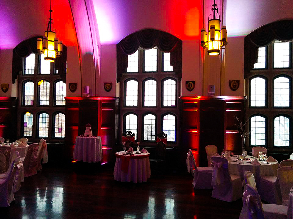 How to Enhance Your Wedding Using Uplights