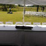 Rochester DJ   Tent Wedding