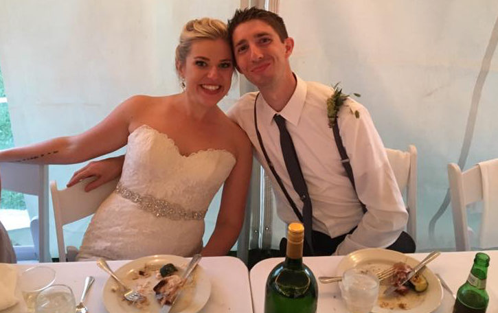 Spears Wedding | Rochester DJ | Tent Wedding