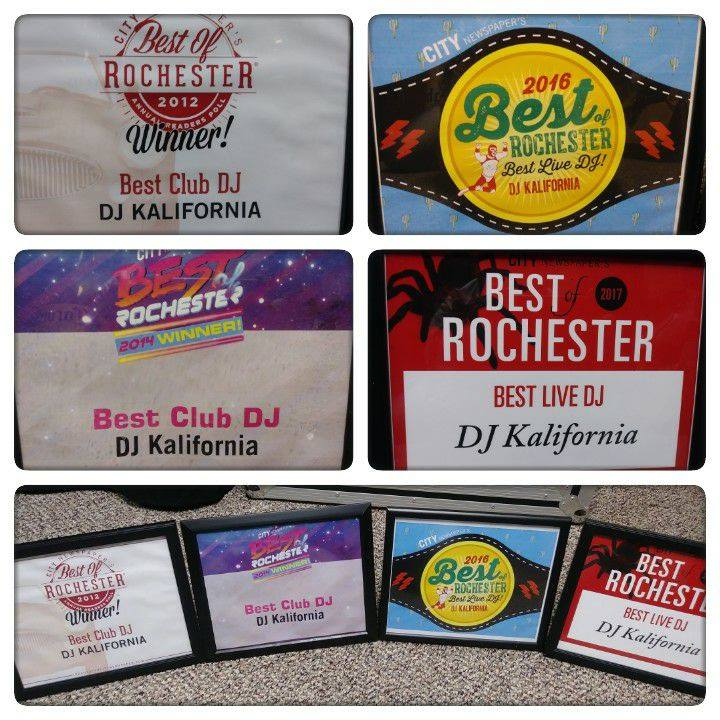 Best of Rochester Awards | Rochester DJ | Weddings & Events