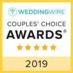 2019 Weddingwire Couples Choice Winner