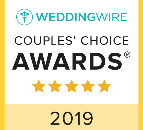 2019 Weddingwire Couples Choice Winner