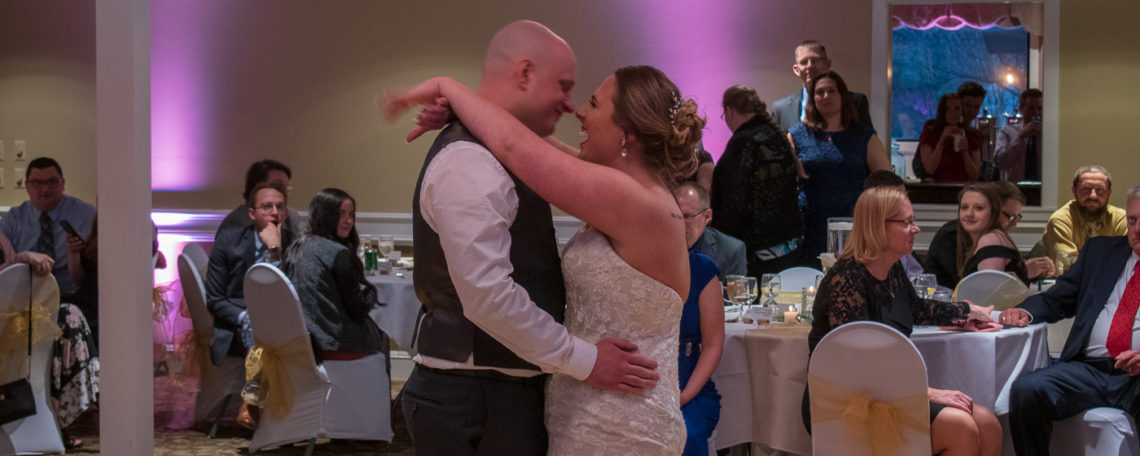 Lawniczak wedding | Rochester DJ Wedding Services | Webster Golf