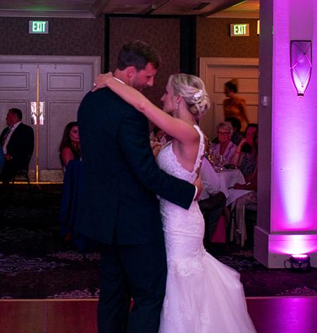 Vistocco Wedding | Woodcliff Hotel & Spa | Rochester DJ