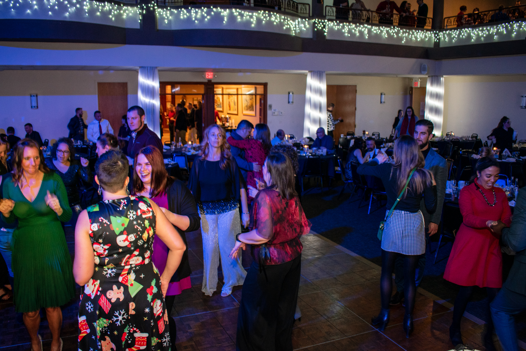 Rochester DJ | Nixon Peabody Holiday Party | Italian American Community Center