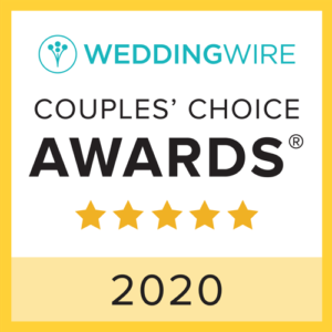 Weddingwire Couples Choice 2020 Winner