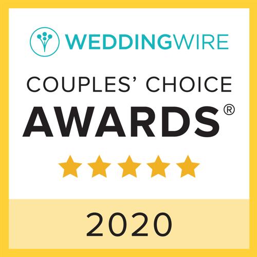 Weddingwire Couples Choice Awards 2020 Winner
