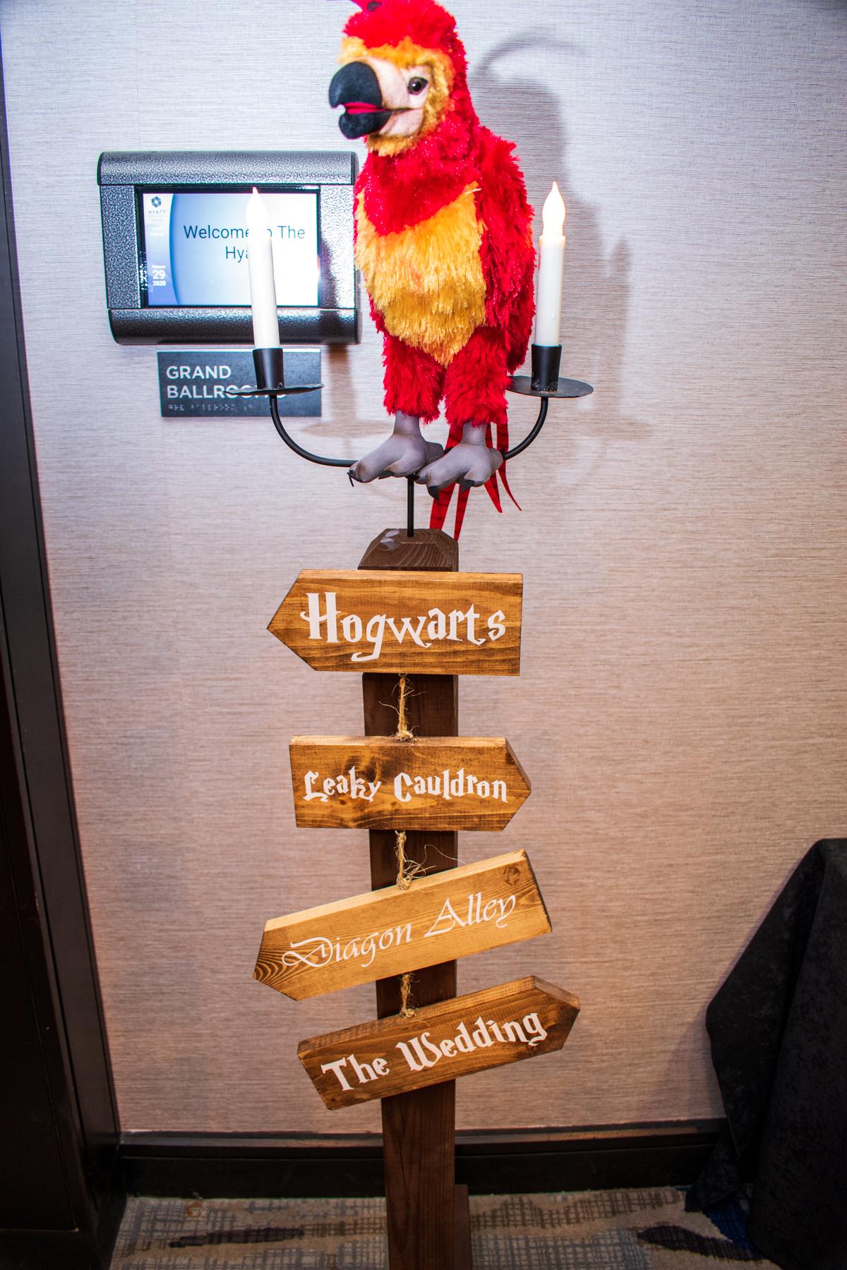 Raha Wedding | Rochester DJ | Hyatt Rochester | Harry Potter Wedding Theme