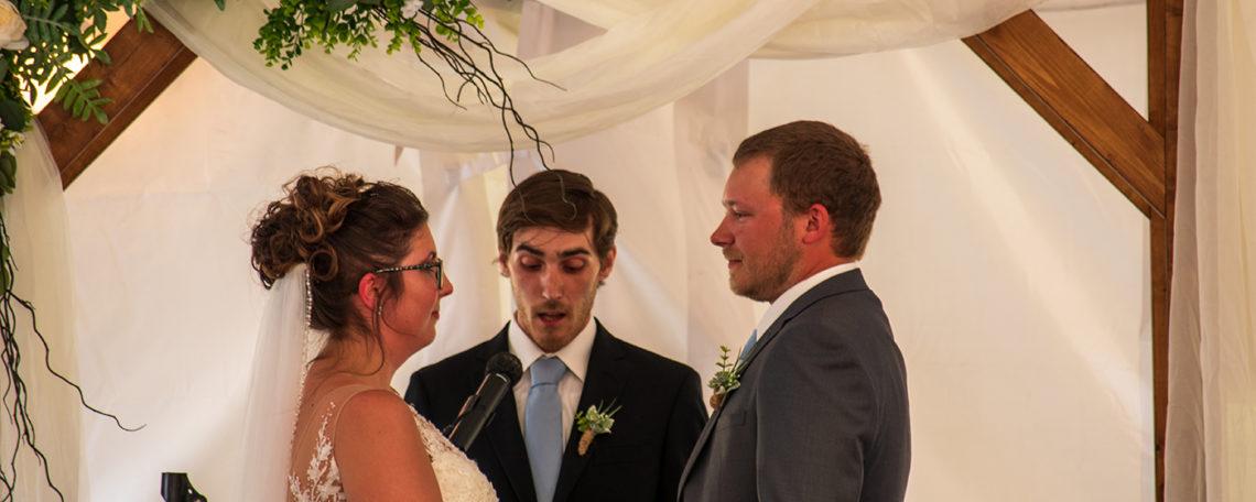 Porter Wedding | Rochester DJ | Weddings & Entertainment | Salmon Creek Country Club