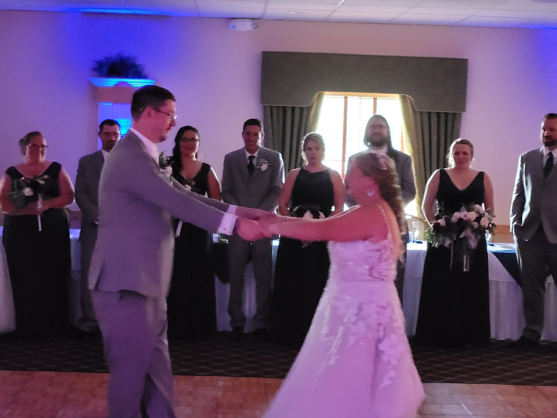 Mann Wedding   Rochester DJ   Valley Oak Event Center   Geneseo