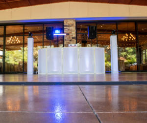 Ravenwood Country Club Wedding Setup | Custom  turntable set up | Rochester DJ | Rochester Wedding and Event Entertainment