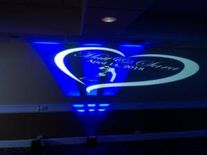 Rochester Wedding DJ   Webster Golf Club Weddings   Custom Wall Monogram