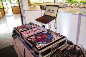 Ravenwood Country Club Wedding | Custom turntable set up | Rochester DJ | Rochester Wedding and Event Entertainment
