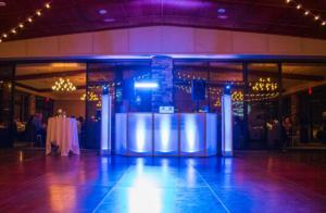 Ravenwood country club wedding reception | Custom DJ set up | Rochester DJ | Rochester Wedding and Event Entertainment