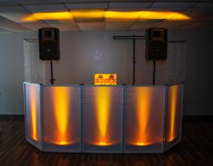 Custom DJ set up | Rochester DJ | Rochester Wedding and Event Entertainment